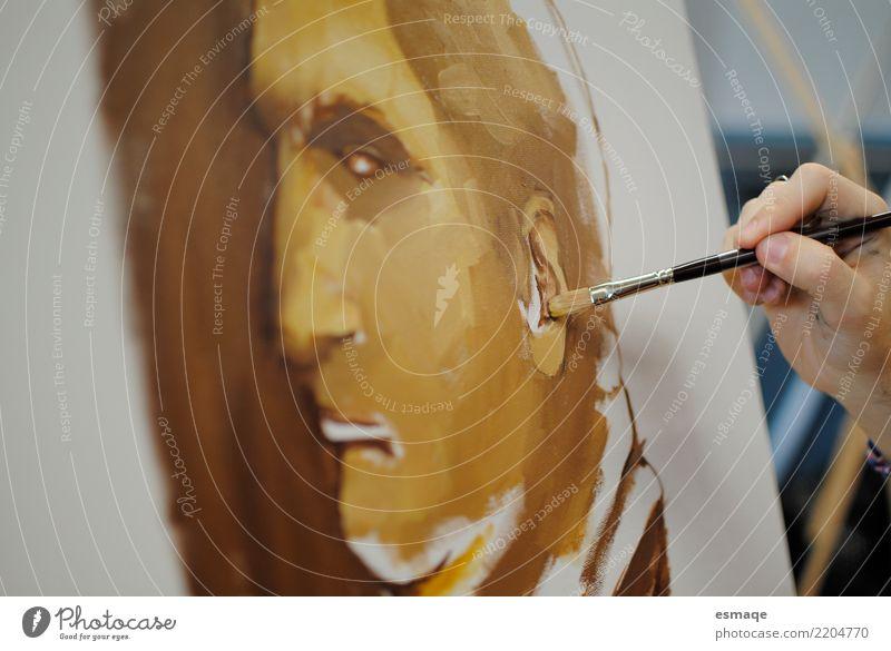 Malerei Detail Lifestyle Kunst Kultur Neugier Gemälde Künstler Ausstellung
