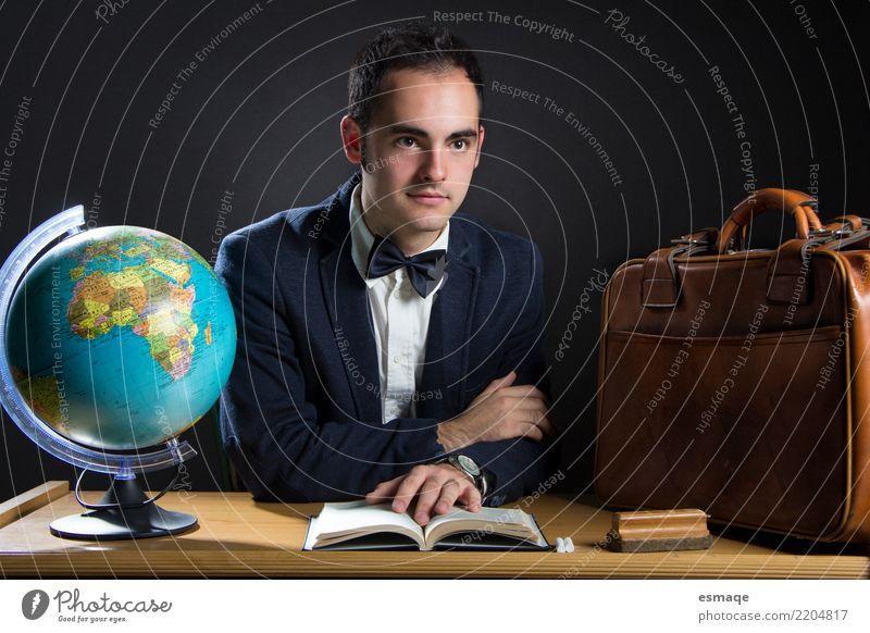 Lehrer Bildung Erwachsenenbildung Schule lernen Hochschullehrer Mensch maskulin Arbeit & Erwerbstätigkeit Business Innenaufnahme Studioaufnahme
