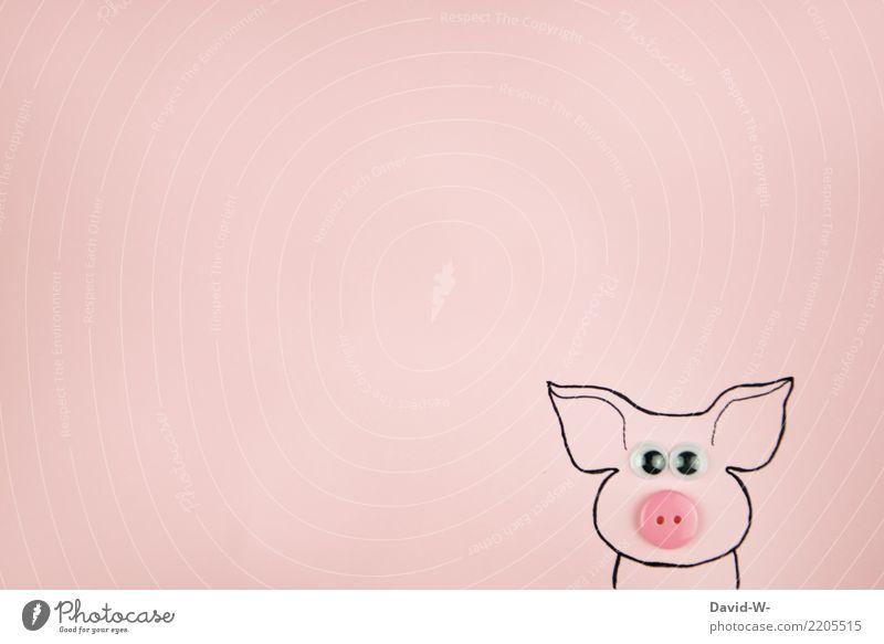 schwein gehabt Ernährung Bioprodukte Vegetarische Ernährung Fastfood Börse Erfolg Kunst Umwelt Natur Tier Nutztier 1 beobachten Schwein Schweinerei