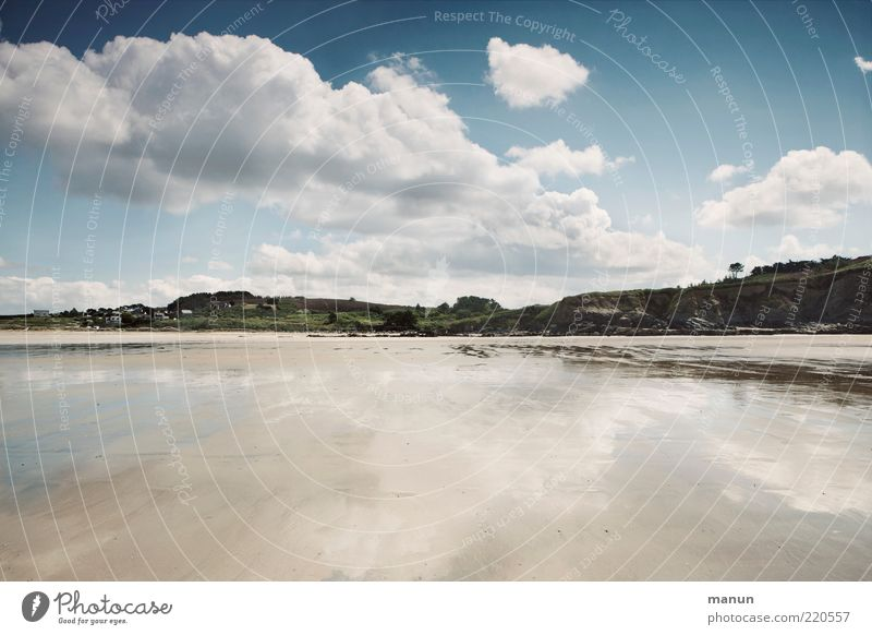 la plage Natur Wasser Himmel Meer Sommer Strand Ferne Sand Landschaft Küste Horizont Wandel & Veränderung rein einzigartig wild fantastisch