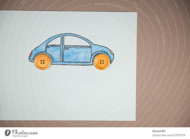 Auto Zeichnung III kaufen Reichtum elegant Stil Design sparen Basteln Modellbau Mensch Kunst Umwelt Klima Klimawandel Verkehr Verkehrsmittel Fahrzeug PKW