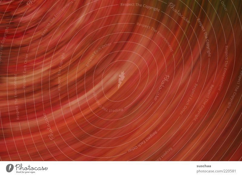 vollrausch .. rot schwarz Linie Kreis weich drehen abstrakt rotieren Unschärfe gedreht Farbenspiel Farbverlauf rotbraun