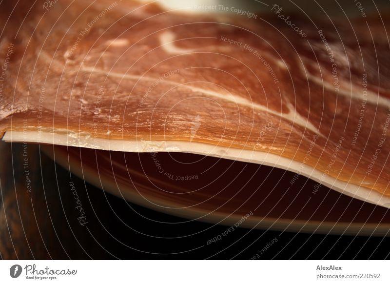 schweinscheibe weiß Ernährung rosa Lebensmittel frisch lecker Appetit & Hunger Duft Teller Fleisch saftig Schinken Schweinefleisch Schinkenscheibe