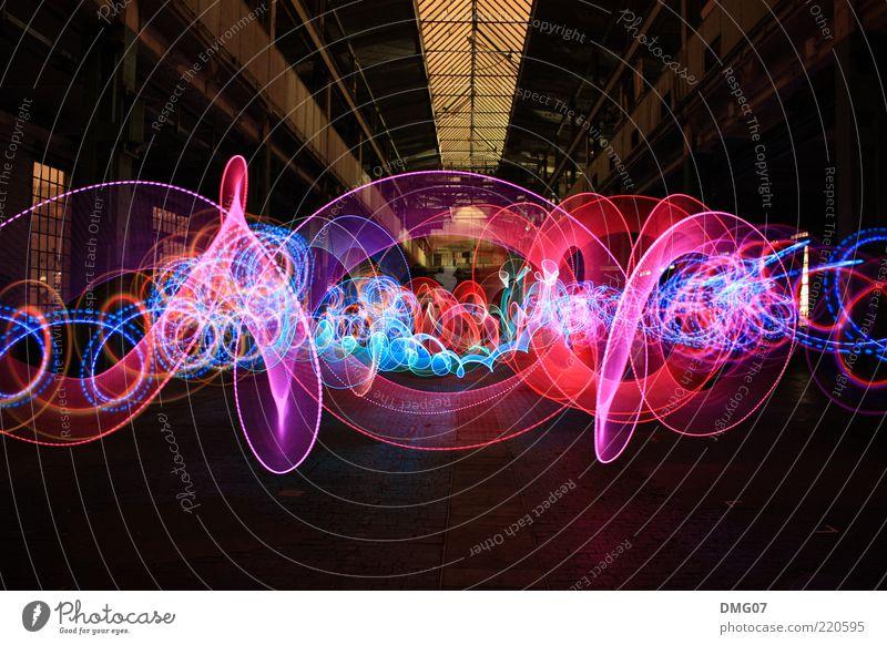 Hall of fame Kunst Feste & Feiern Design leuchten Disco Langzeitbelichtung Club abstrakt Veranstaltung Lichtspiel Nacht Entertainment Licht Nachtleben ausgehen Leuchtspur