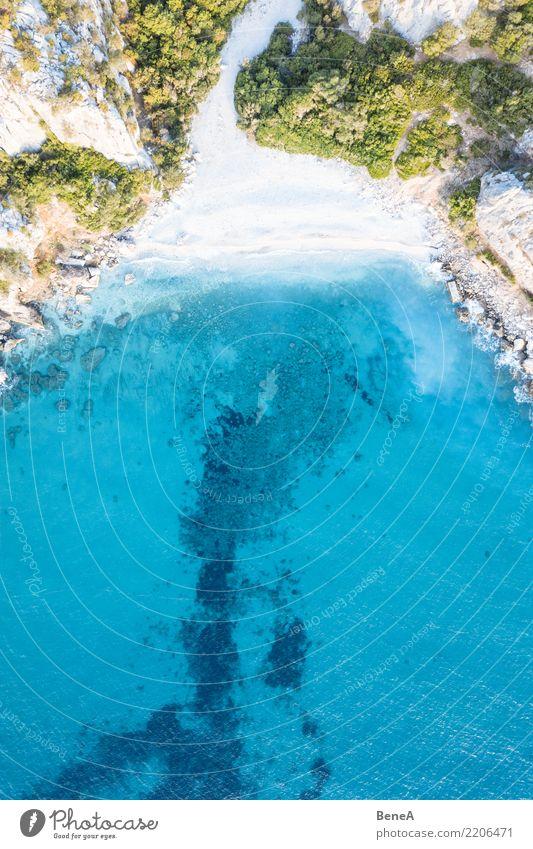Traumstrand Erholung Schwimmen & Baden Ferien & Urlaub & Reisen Tourismus Ferne Freiheit Sommer Sommerurlaub Sonne Sonnenbad Strand Meer Insel Wellen Natur
