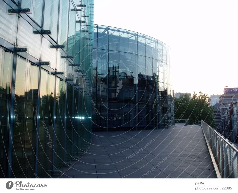 Parlament Haus Gebäude Architektur Glas Spiegel Belgien Brüssel Houses of Parliament