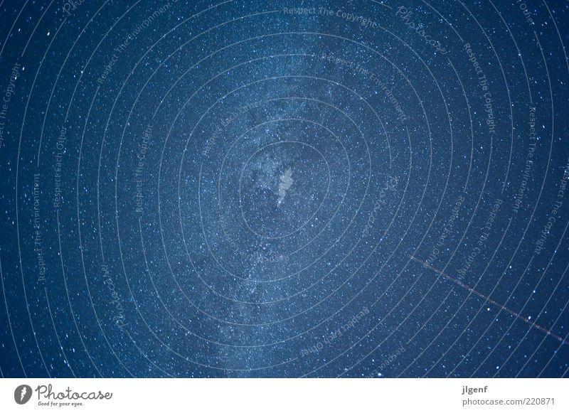 Star trek Natur Himmel blau Ferne Freiheit Wege & Pfade Stern Umwelt groß ästhetisch Nachthimmel einzigartig Streifen Unendlichkeit Weltall Planet