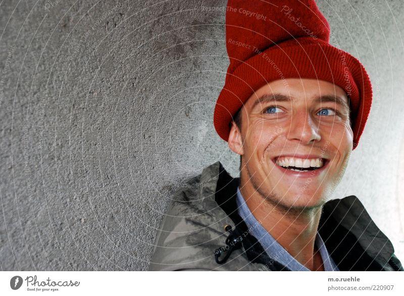Heinrich Harlekin Mensch maskulin Junger Mann Jugendliche Haut Kopf Gesicht Auge Ohr Nase Mund Lippen Zähne 1 18-30 Jahre Erwachsene Mütze authentisch natürlich
