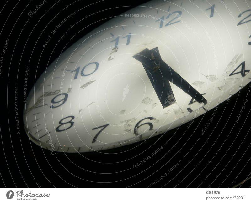 17:25 Uhr Zeit analog Marktplatz Darmstadt Elektrisches Gerät Technik & Technologie Standuhr