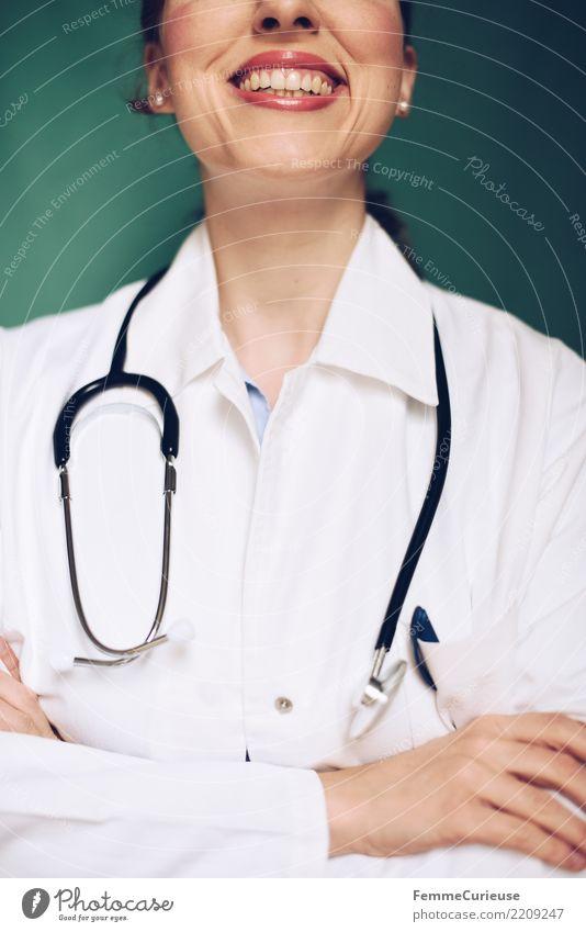 Doctor 42 Arbeit & Erwerbstätigkeit Beruf Arzt kompetent Erfolg selbstbewußt Medikament Krankenhaus Praxis Lächeln lachen Kittel Arbeitsbekleidung