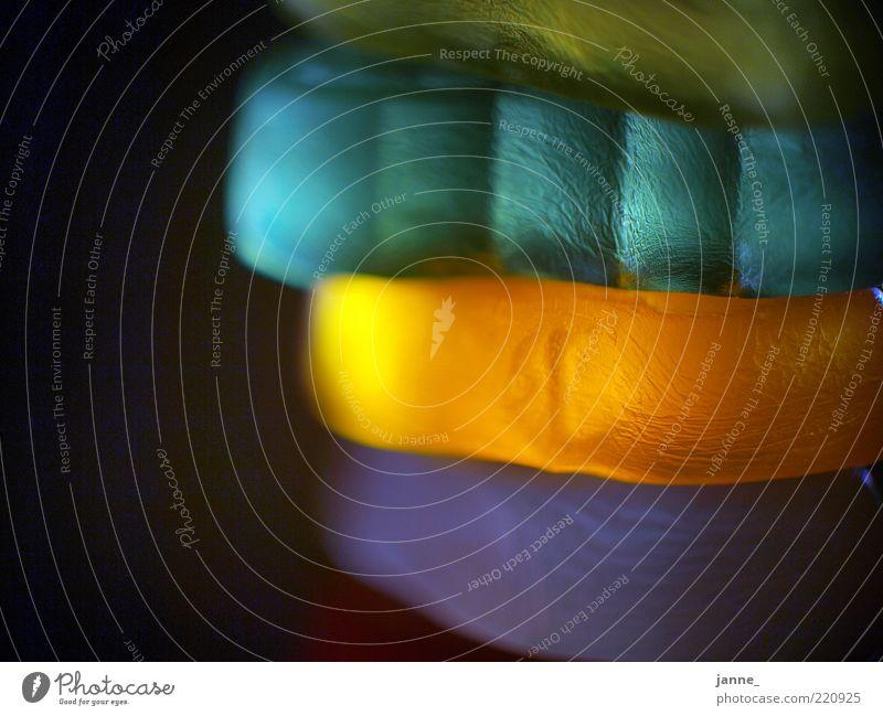 NomNom grün blau Ernährung gelb orange glänzend Lebensmittel weich violett Süßwaren Stapel Makroaufnahme schimmern mehrfarbig hell-blau aufeinander