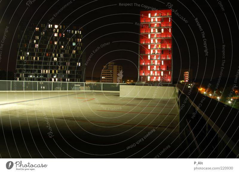 architecture rot Haus Wand Fenster Architektur Mauer Gebäude Metall Glas Beton Fassade Hochhaus Design Bauwerk Balkon