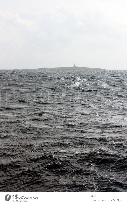 u-boot voraus (beyond the sea [25]) Himmel Natur Sommer Ferien & Urlaub & Reisen Meer Wolken Einsamkeit Ferne Freiheit Landschaft Umwelt Küste Wetter Wellen