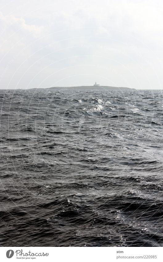 u-boot voraus (beyond the sea [25]) Ferien & Urlaub & Reisen Ausflug Ferne Freiheit Sommer Sommerurlaub Meer Insel Wellen Umwelt Natur Landschaft Himmel Wolken