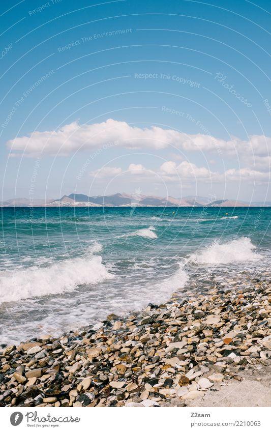 Kos - Bodrum Himmel Natur Ferien & Urlaub & Reisen blau Sommer Landschaft Meer Erholung Einsamkeit ruhig Strand Berge u. Gebirge Umwelt natürlich Küste frisch