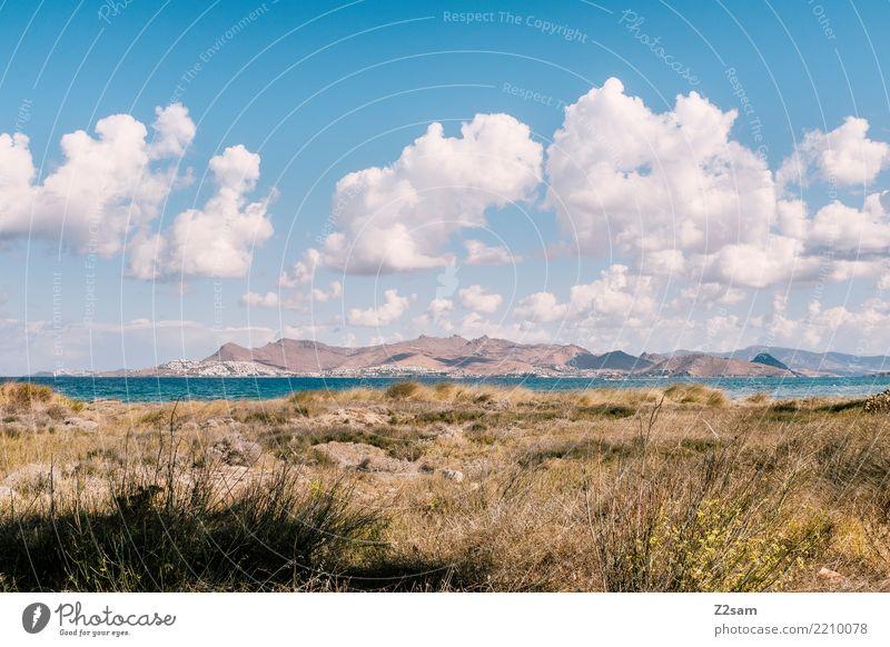 Kos Himmel Natur Ferien & Urlaub & Reisen blau Sommer Farbe Landschaft Meer Erholung Einsamkeit Wolken ruhig Strand Berge u. Gebirge Umwelt natürlich