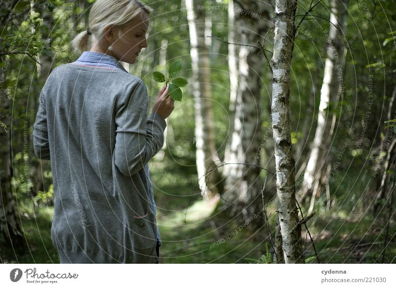 Moment Lifestyle Stil schön Leben harmonisch Wohlgefühl Zufriedenheit Erholung ruhig Mensch Junge Frau Jugendliche 18-30 Jahre Erwachsene Umwelt Natur Sommer