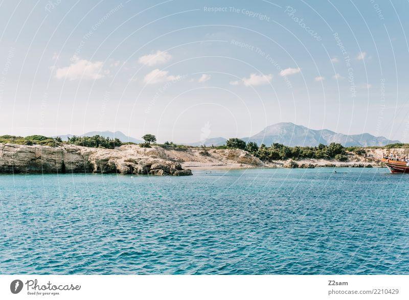 KOS Himmel Natur Ferien & Urlaub & Reisen blau Sommer Wasser Landschaft Meer Erholung Einsamkeit Wolken ruhig Umwelt natürlich Tourismus ästhetisch