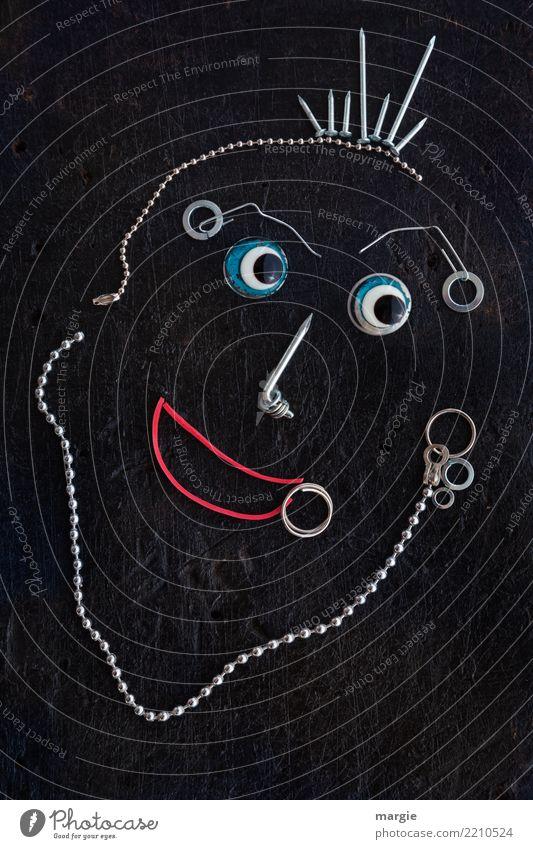 Emotionen...coole Gesichter: Piercingman Mensch Mann Freude Auge Erwachsene Lifestyle Stil Kunst Haare & Frisuren Mode braun Freizeit & Hobby maskulin Mund