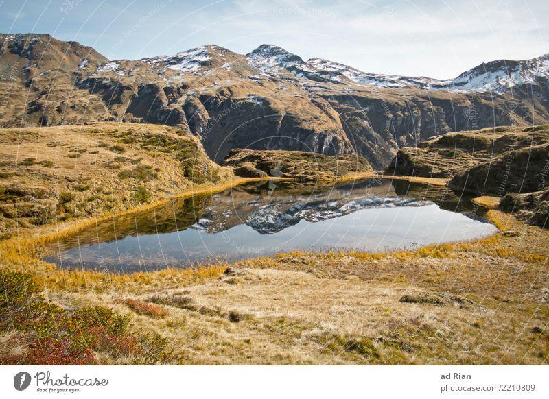 Wanderwetter IX Himmel Natur Ferien & Urlaub & Reisen Pflanze Landschaft Tier Berge u. Gebirge Umwelt Herbst Gras Tourismus Freiheit See Felsen Ausflug wandern
