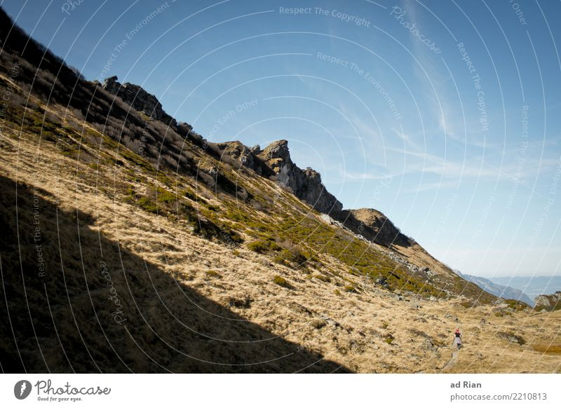 Wanderwetter II Ferien & Urlaub & Reisen Ausflug Abenteuer Ferne Freiheit Berge u. Gebirge wandern Sport Umwelt Natur Landschaft Pflanze Tier Wolkenloser Himmel