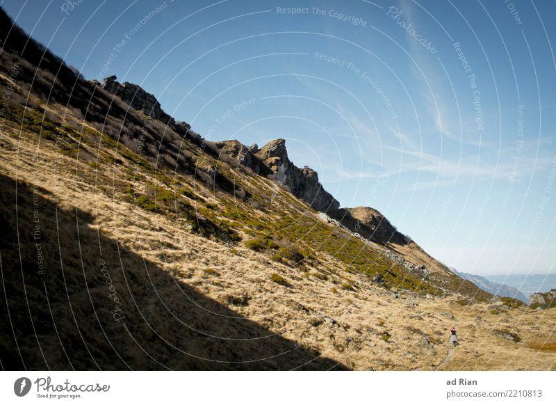 Wanderwetter II Natur Ferien & Urlaub & Reisen Pflanze Landschaft Erholung Tier Ferne Berge u. Gebirge Umwelt Herbst Sport Gras Freiheit Felsen Ausflug Horizont