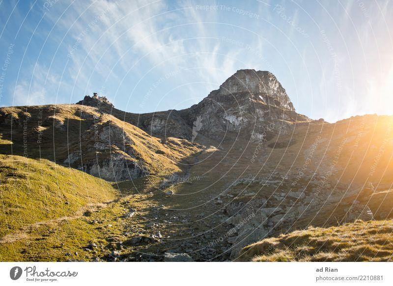 Wanderwetter IV Ferien & Urlaub & Reisen Tourismus Ausflug Abenteuer Ferne Freiheit Berge u. Gebirge wandern Umwelt Natur Landschaft Pflanze Tier Horizont