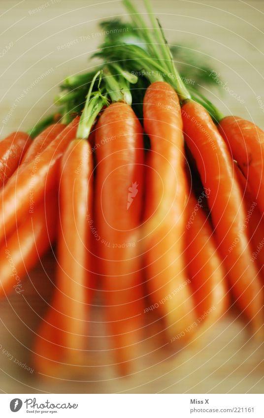 Möhre III Lebensmittel Gemüse Ernährung Bioprodukte Vegetarische Ernährung Diät frisch lecker orange Farbfoto mehrfarbig Innenaufnahme Nahaufnahme Menschenleer
