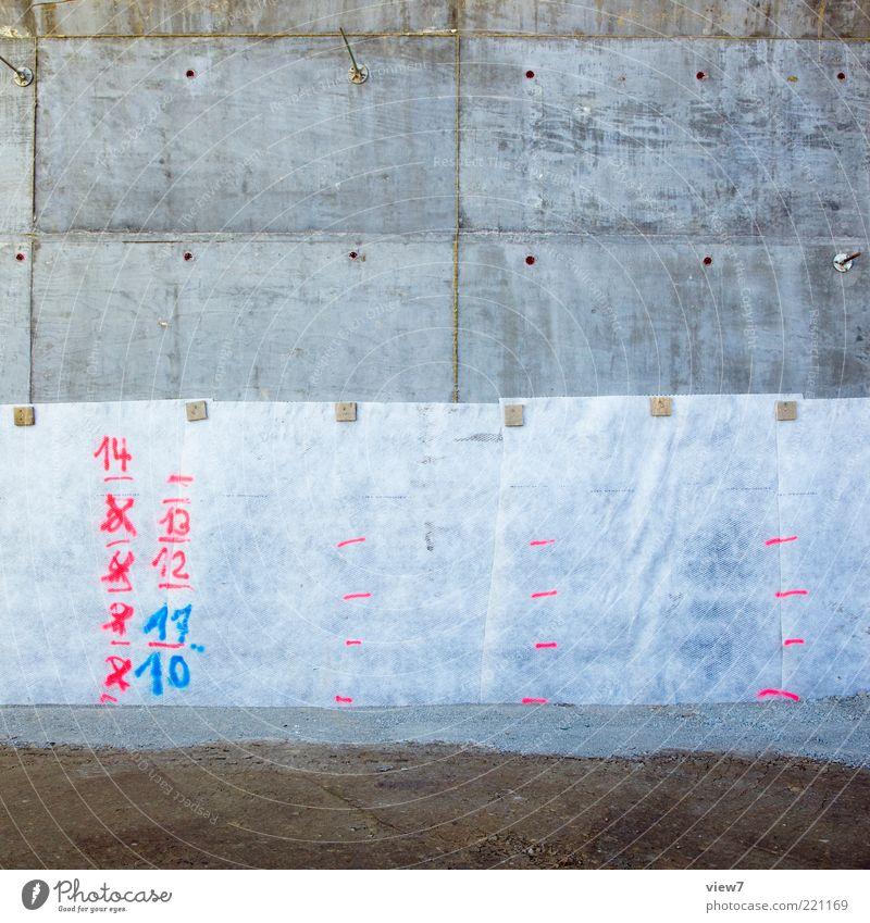 Ziffern alt dunkel Stein rosa Beton Schilder & Markierungen Erde authentisch einfach Baustelle Ziffern & Zahlen einzigartig Zeichen Kies Erinnerung Hinweis