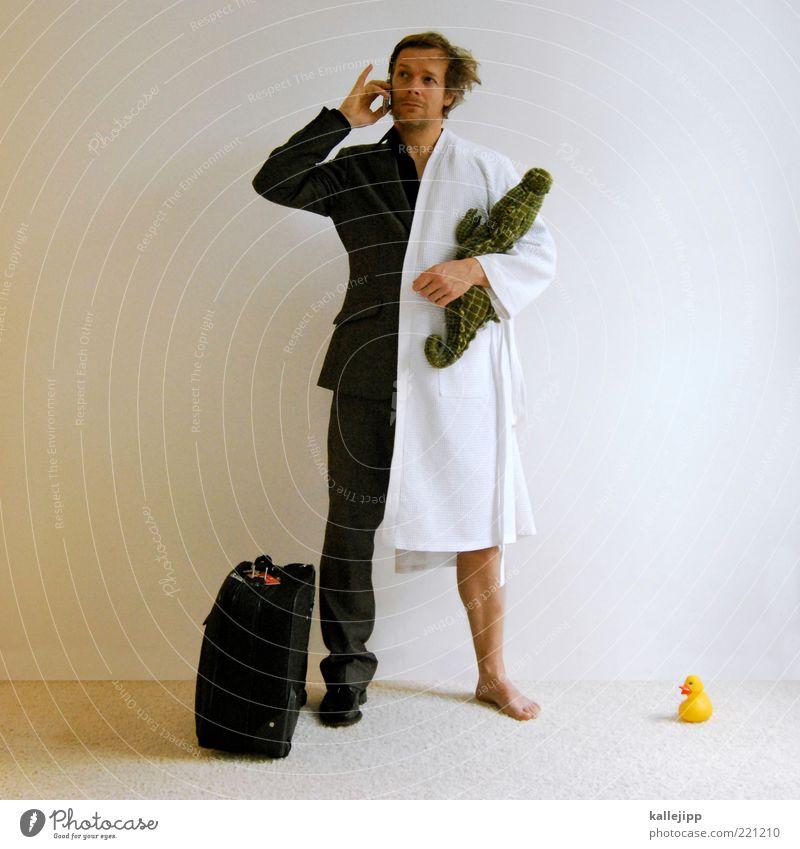 home office Mensch Mann Erwachsene sprechen Haare & Frisuren Beruf Telefon Arbeit & Erwerbstätigkeit Freizeit & Hobby Wohnung maskulin Lifestyle