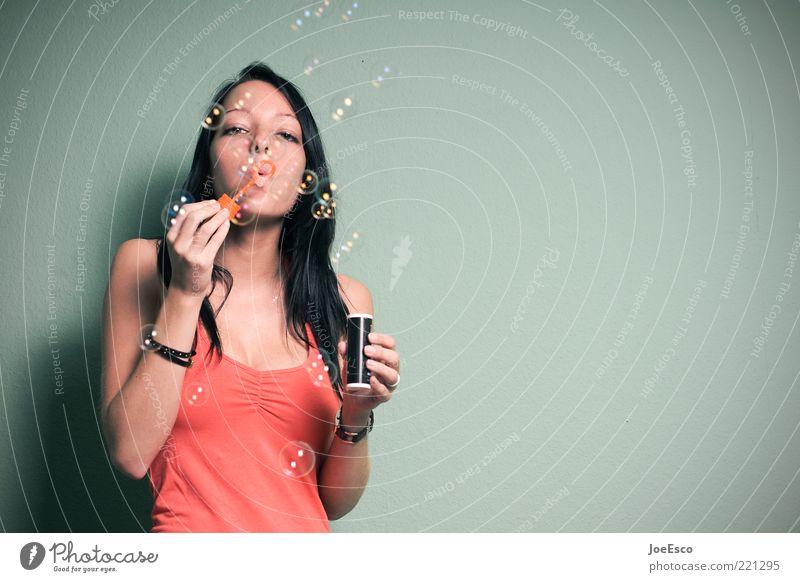 #221295 Frau Jugendliche schön Freude Leben feminin Spielen Erwachsene träumen Feste & Feiern Zufriedenheit Freizeit & Hobby Fröhlichkeit Lifestyle T-Shirt