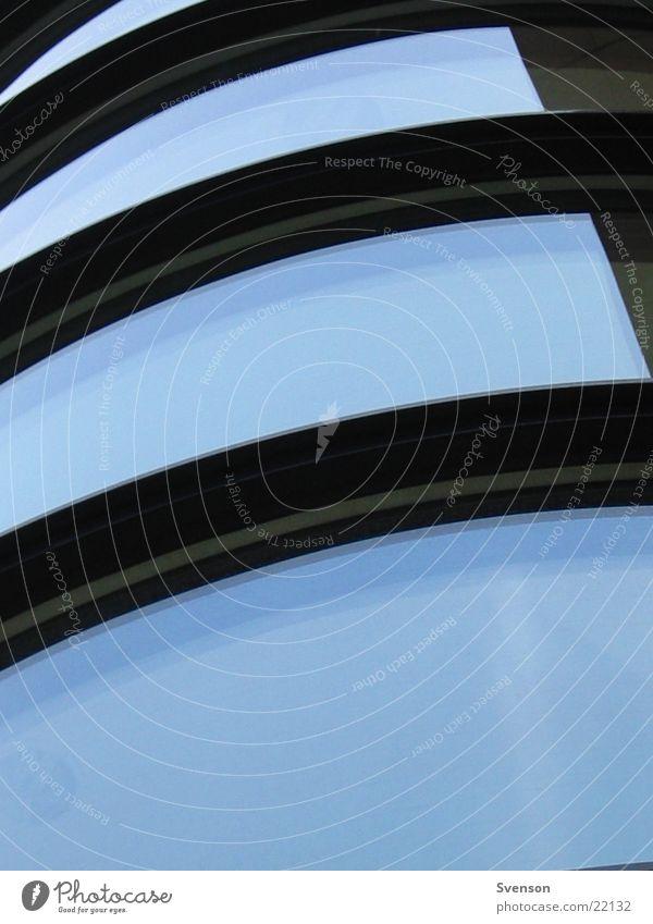 blue windows Haus Fenster Architektur Glas Stahl