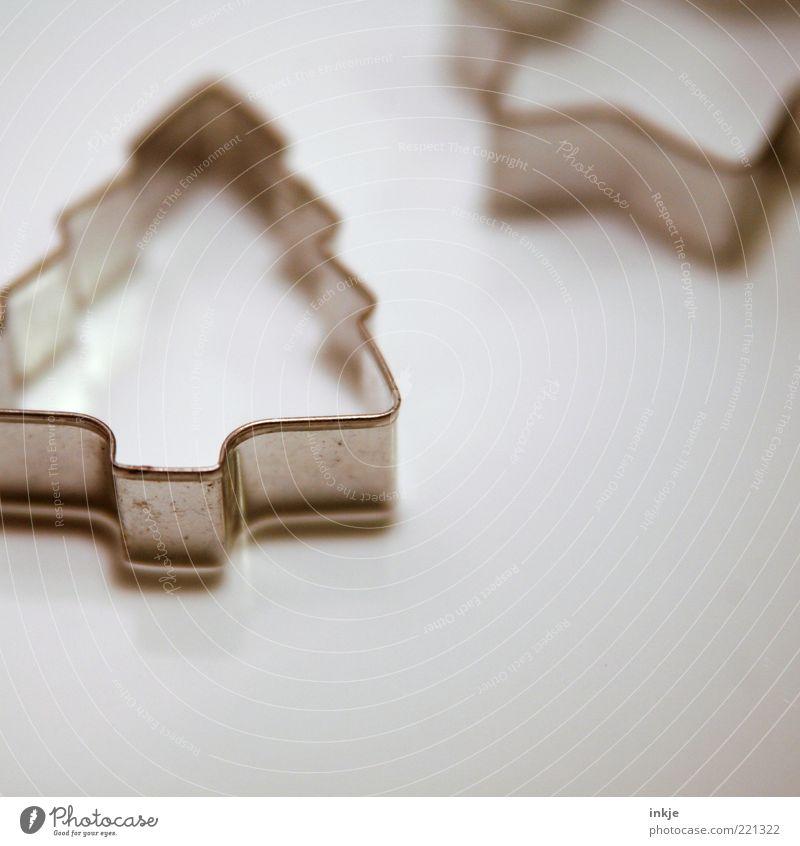 Ausstecherle klein Feste & Feiern Metall Dekoration & Verzierung Ernährung Kreativität Spitze Kochen & Garen & Backen Stern (Symbol) Weihnachten & Advent Tradition Weihnachtsbaum Tanne eckig Nostalgie Originalität