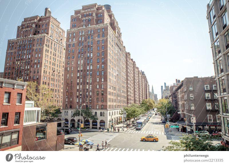 Häuserschlucht iin Manhattan, New York City kaufen elegant Stil Freizeit & Hobby Ferien & Urlaub & Reisen Tourismus Ausflug Abenteuer Ferne Freiheit Sightseeing
