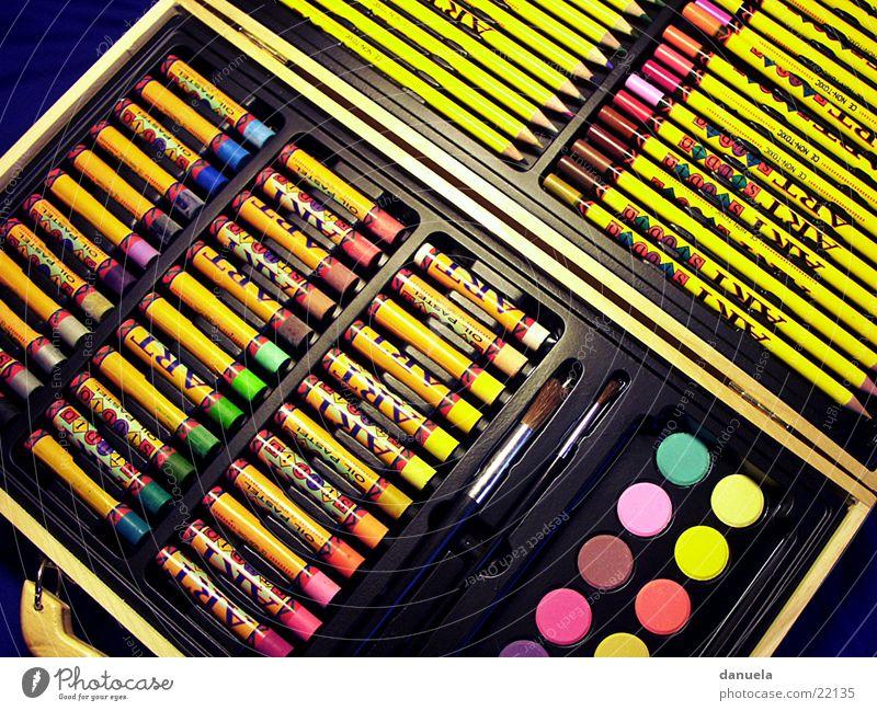 stifte Schreibstift Aquarell Wachs Kunst streichen zeichnen artwork