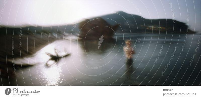 Tresca yield criterion Mensch Himmel Natur Wasser schön Ferien & Urlaub & Reisen Meer Strand Umwelt Landschaft Gefühle Küste Luft Kunst Schwimmen & Baden Felsen