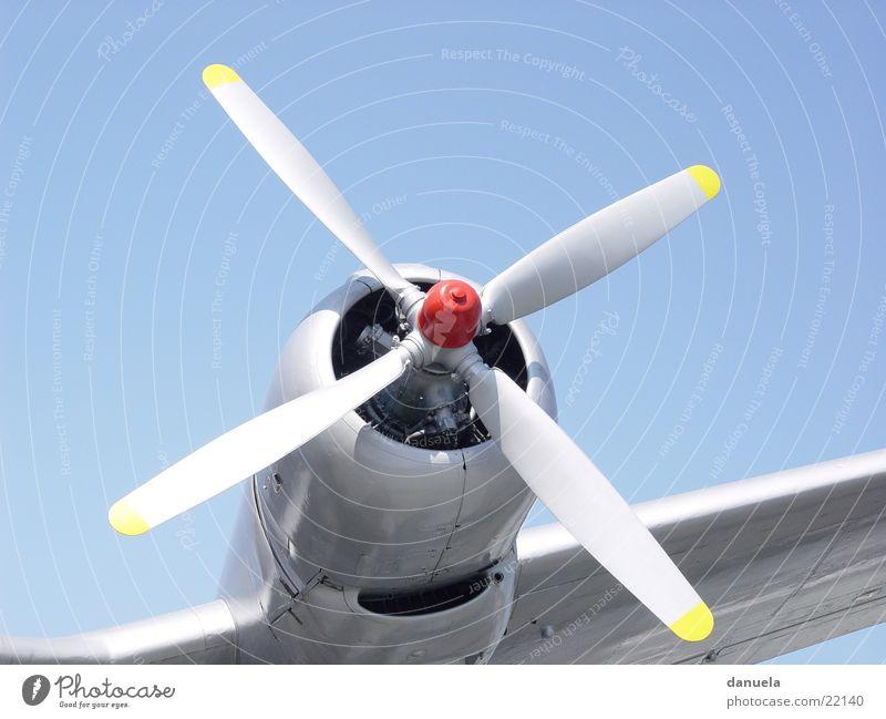 Propellör Sommer Flugzeug fliegen Europa Propeller Deutsches Technikmuseum