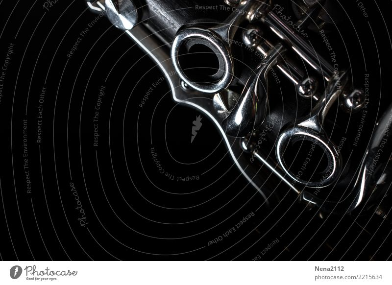 Klarinette 02 Freude schwarz Gefühle Kunst Stimmung Zufriedenheit Musik Fröhlichkeit Lebensfreude Leidenschaft Konzert Euphorie Bühne Band Optimismus