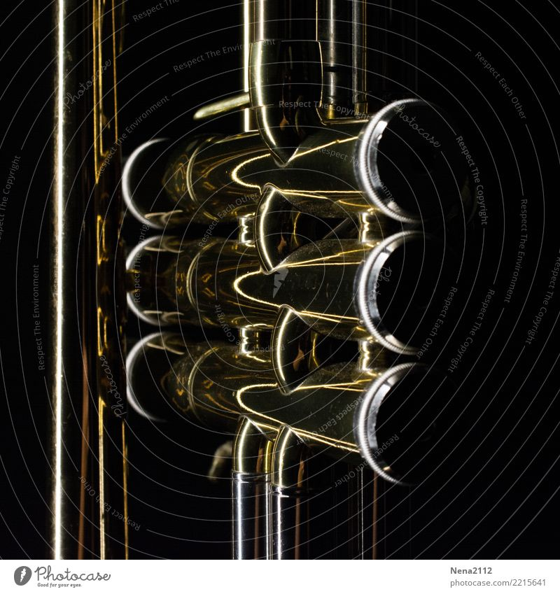 Trompete - Q7 Kunst Musik Musik hören Konzert Open Air Bühne Oper Band Musiker Orchester graphisch Tasteninstrumente Musikinstrument Blechblasinstrumente