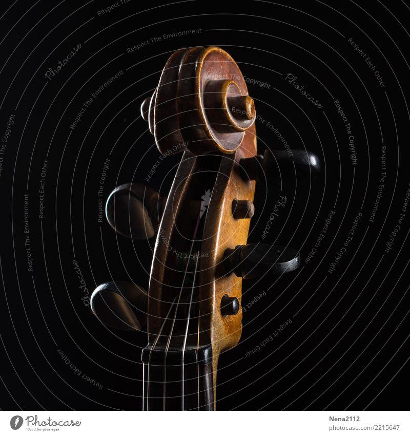 Geige - Q3 Kunst Musik Musik hören Konzert Open Air Bühne Oper Band Musiker Orchester ästhetisch Holz Saite Saiteninstrumente Violine spielen Verwirbelung