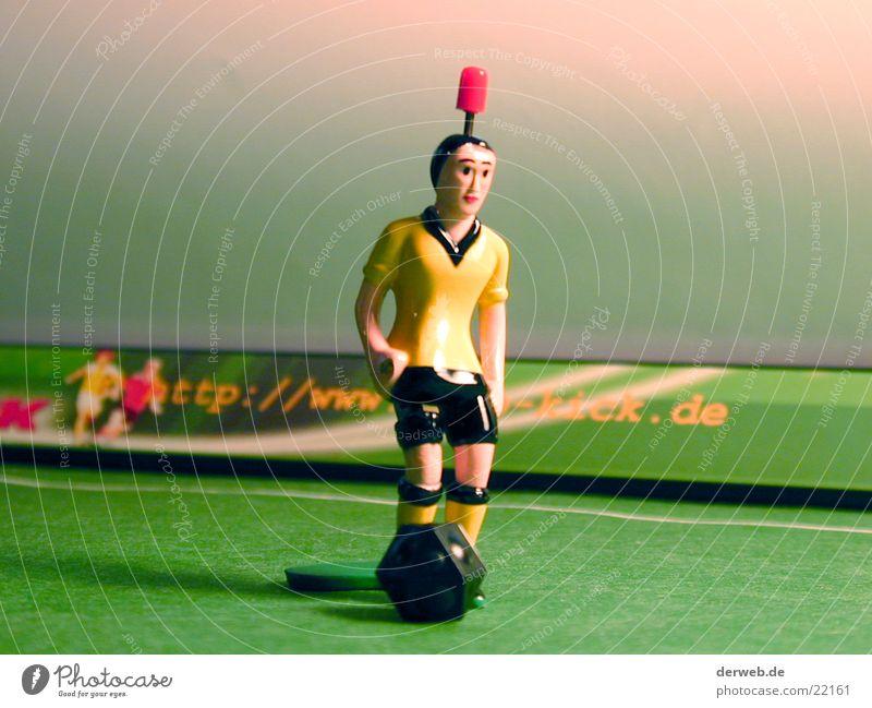 TIPP-KICKer grün Fußball Rasen Freizeit & Hobby Spielfigur Fußballplatz Weltmeisterschaft Empfehlung Tischfußball Kick Bundesliga Mittelkreis