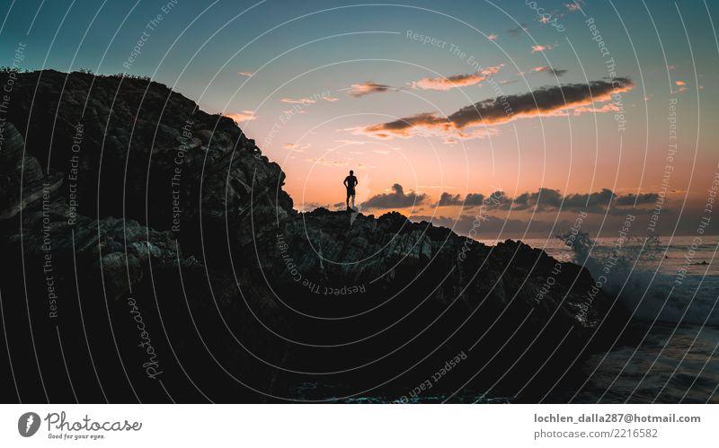 Das Licht jagen Ferien & Urlaub & Reisen Tourismus Ausflug Abenteuer Ferne Freiheit Sightseeing Sommer Sommerurlaub Sonne Strand Meer Insel Freude Himmel Wolken