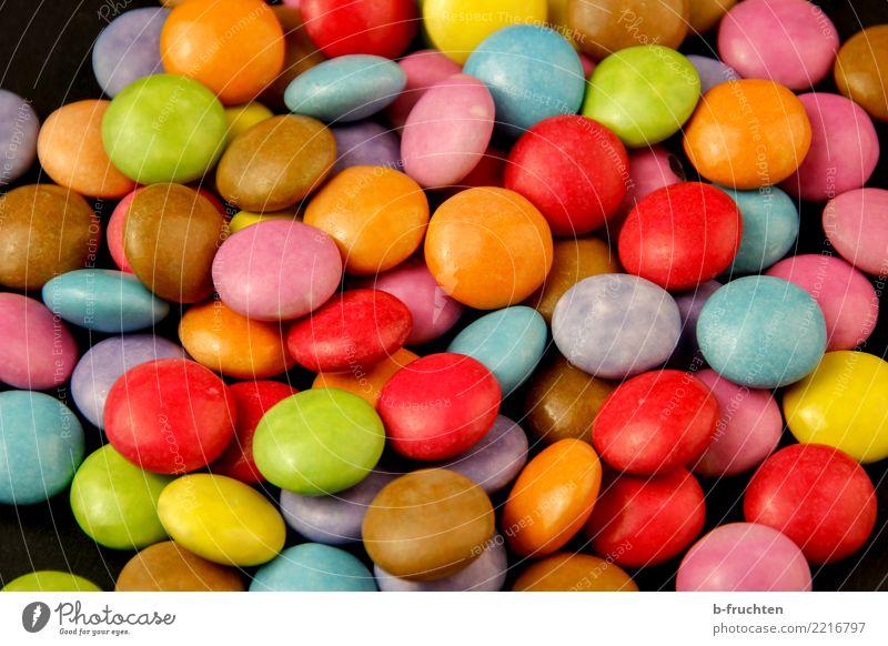Schokolinsen Freude Fröhlichkeit süß Süßwaren Krankheit Diät Verschiedenheit Sucht Tablette Auswahl Genusssucht verteilt Drogensucht