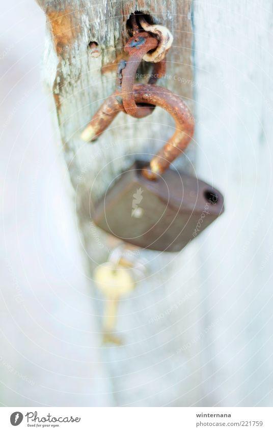 Schlüssel zu meinem Herzen Holz Metall Schloss Glück Ehre Tapferkeit Coolness Optimismus Kraft Mut Tatkraft Vertrauen Sicherheit Schutz Einigkeit loyal