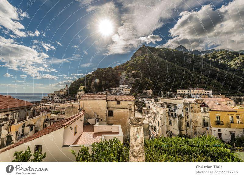 Amalfi Ferien & Urlaub & Reisen Tourismus Ausflug Abenteuer Ferne Freiheit Sightseeing Städtereise Sommer Sommerurlaub Sonne Strand Meer wandern Umwelt Natur