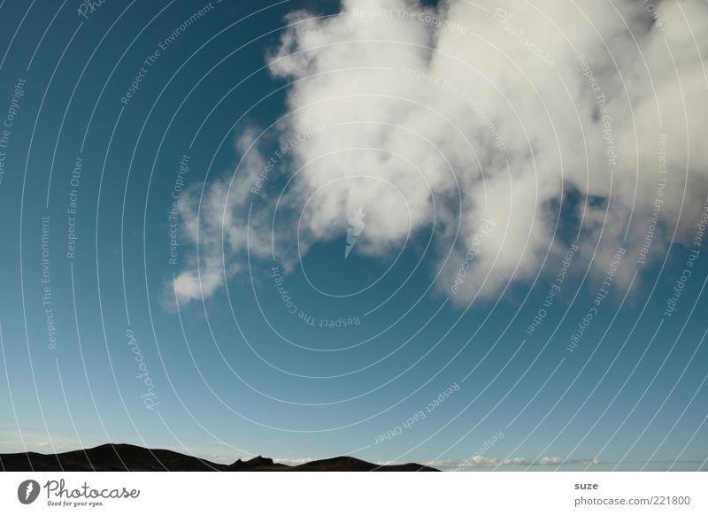 Wolke Himmel Natur blau Wolken Umwelt Berge u. Gebirge Luft Wetter Klima Rauch Island Abgas Klimawandel Europa