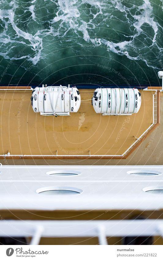 Sicherheit Ferien & Urlaub & Reisen Tourismus Kreuzfahrt Meer Wellen Technik & Technologie Umwelt Nordsee Schifffahrt Passagierschiff Fähre Beiboot Zeichen