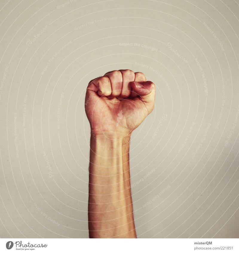 Power. Hand Gefühle Kunst Kraft Erfolg ästhetisch maskulin Politische Bewegungen Macht Symbole & Metaphern Gewalt stark machen Krieg chaotisch Ärger