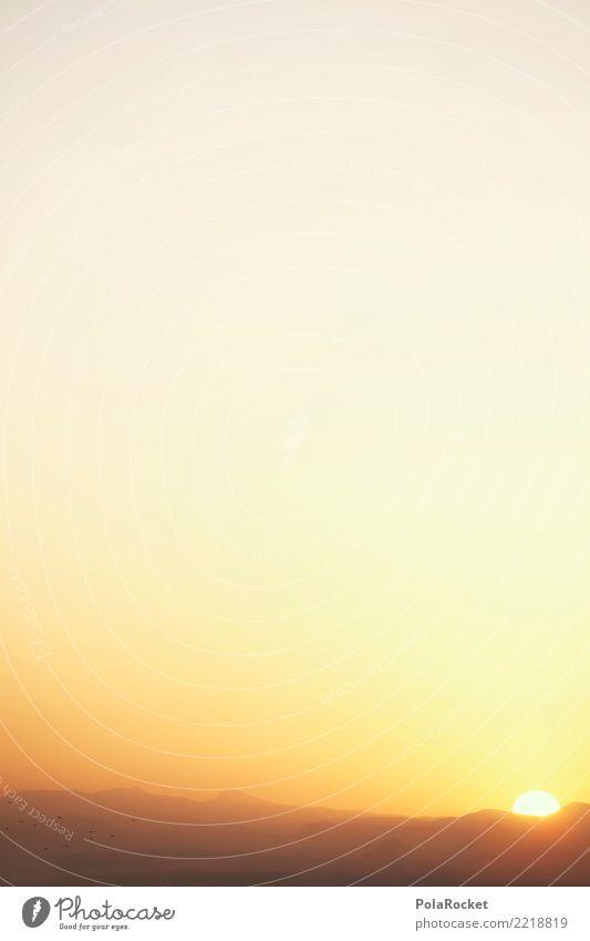 #A# Sonnenaufgang Umwelt Natur ästhetisch Sonnenlicht Sonnenstrahlen Sonnenenergie aufwachen Morgen Morgendämmerung Morgenland Morgennebel Marokko Farbfoto