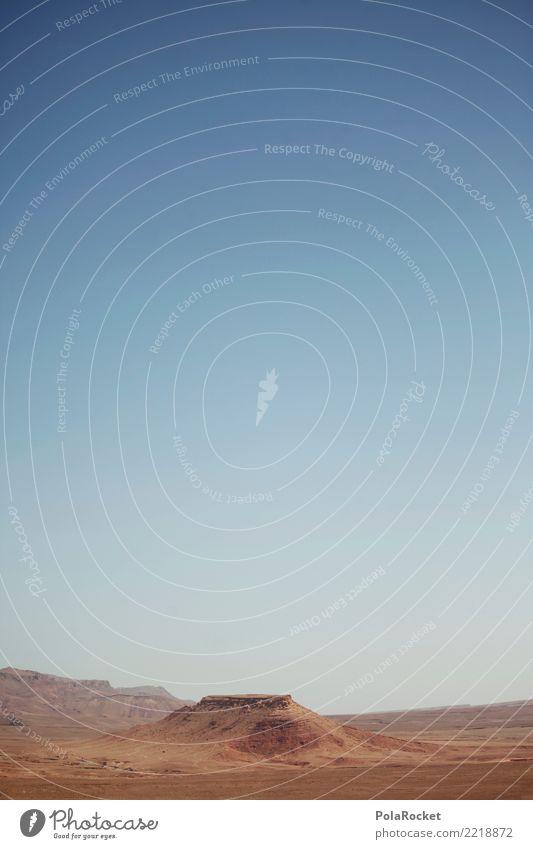 #A# Steinwüste Landschaft ästhetisch USA steinig Berge u. Gebirge Landschaftsformen Marokko Farbfoto Gedeckte Farben Außenaufnahme Detailaufnahme Experiment